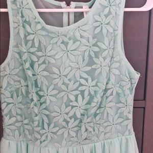 Xhilaration Dresses - Xhiliration sea foam dress